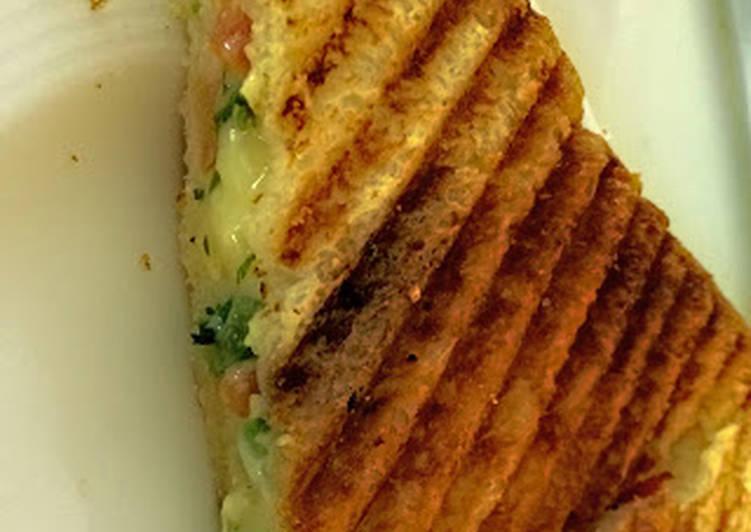 Chilli Cheese Sandwich Toast