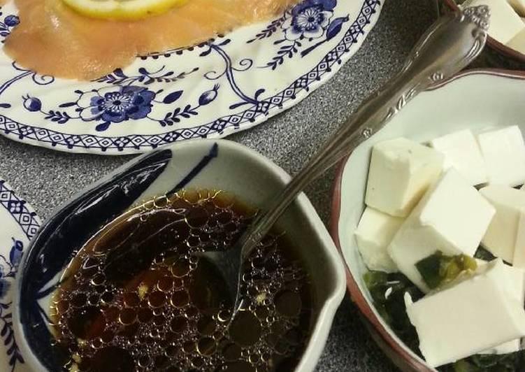 Citrus Dressing for Tofu & Seawead Salad
