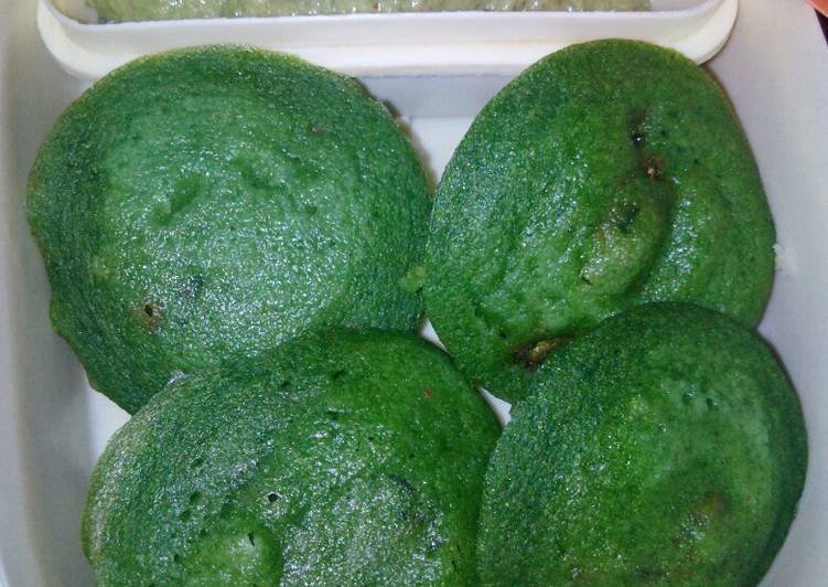 25 Minute Easiest Way to Prepare Special Spinach idli
