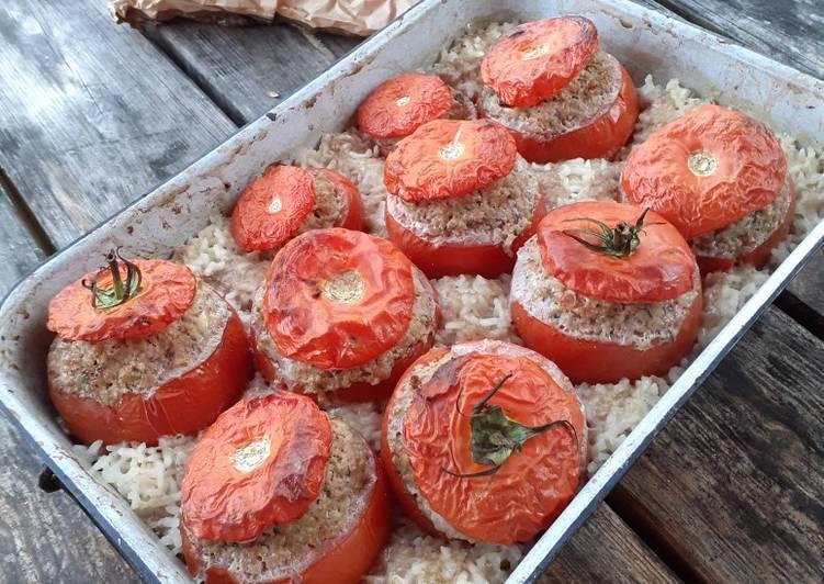 Comment Cuisiner Les tomates farcies, plat familial, sain et gourmand !