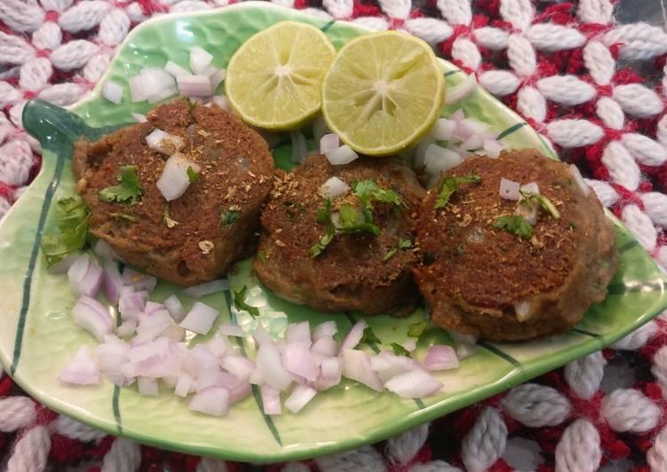 5 Minute Recipe of Diet Perfect Shami kebab black gram