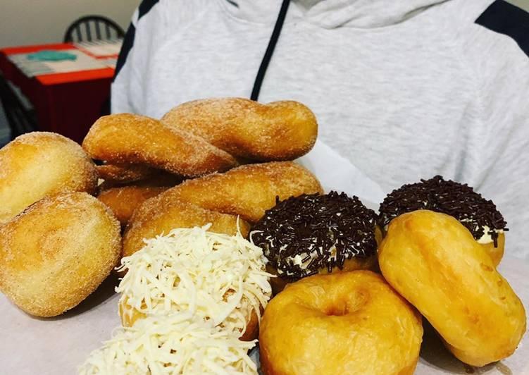 Donut kentang jadul