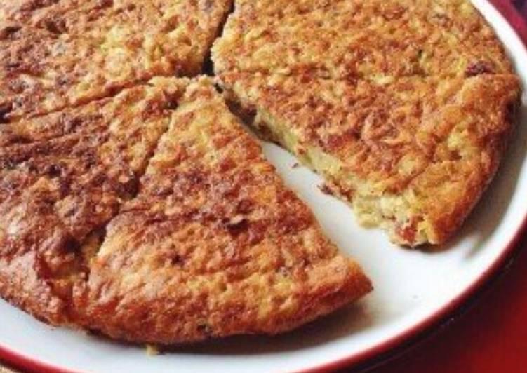 Pizza Mie (Omelette Mie telur)