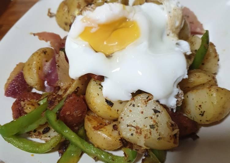 Recipe: Appetizing Potato Hash Dinner Adaptation