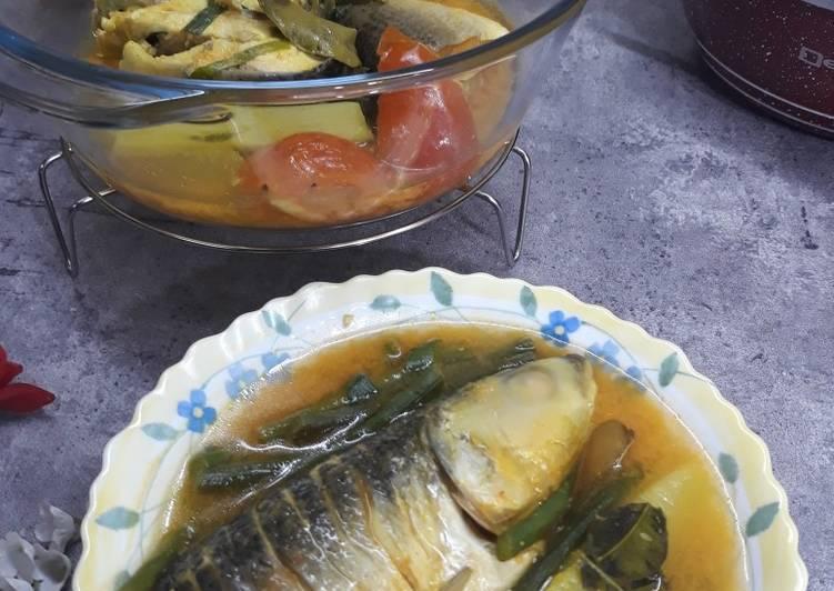 Ikan Susu Masak Asam Kuning