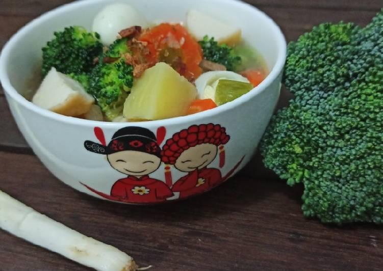 Sup Ayam Brokoli