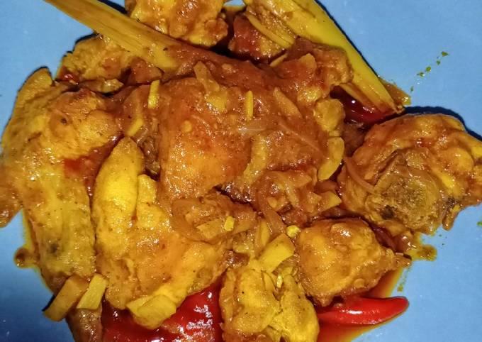Ayam Tomyam Kering