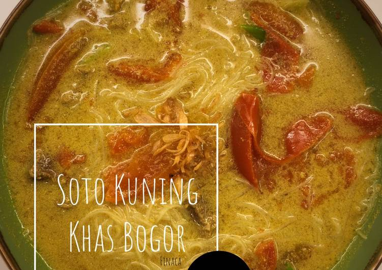 Recook : Soto Kuning Khas Bogor