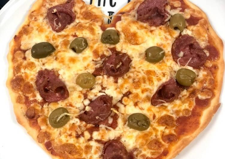 Comment Servir Pizza cœur