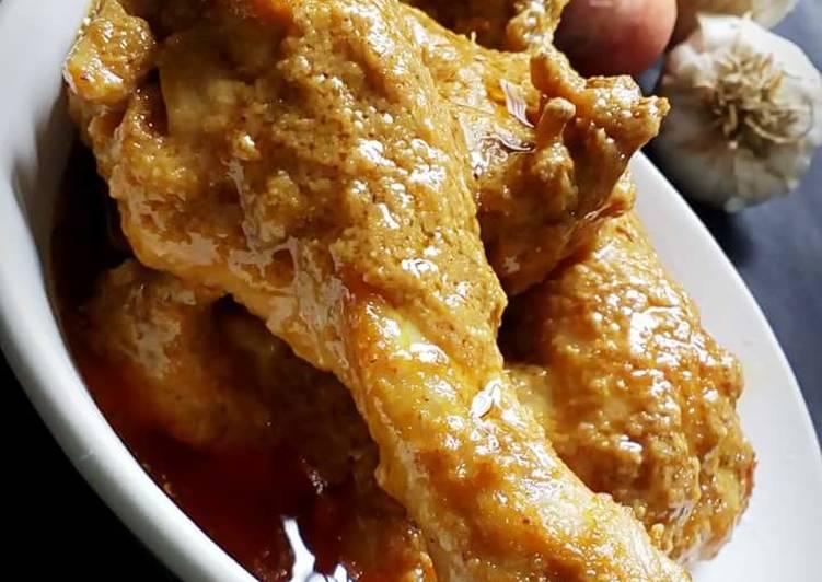 Smokey tandoori chicken korma