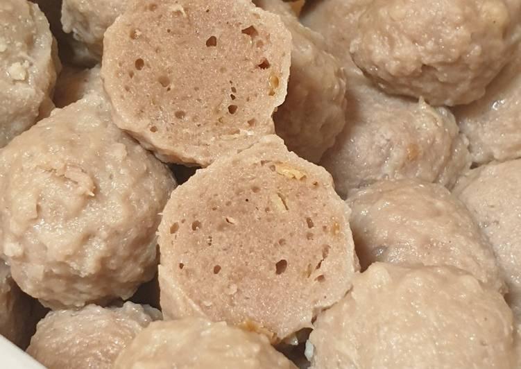 Resep Bakso Sapi Homemade, Bikin Ngiler