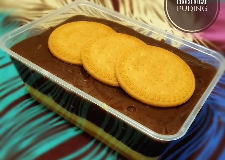 32. Puding Choco Regal 🌛