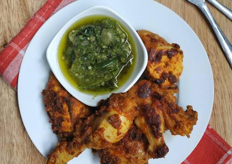Ayam Bakar Padang (versi 1/2 ekor)