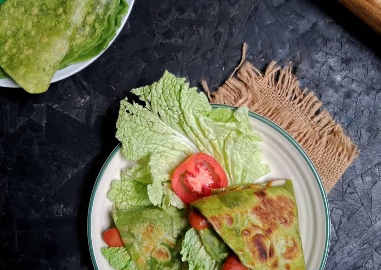 Tortilla Sawi / Kebab Sosis