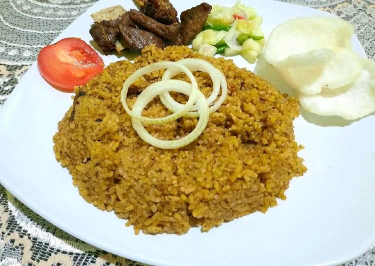 Nasi kebuli daging kambing - cookandrecipe.com