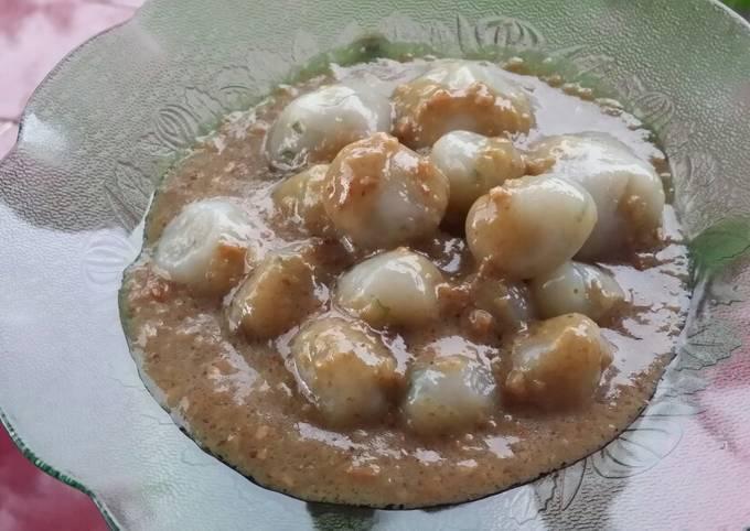Resep Cilok Bumbu Kacang Oleh Rany Anya Cookpad