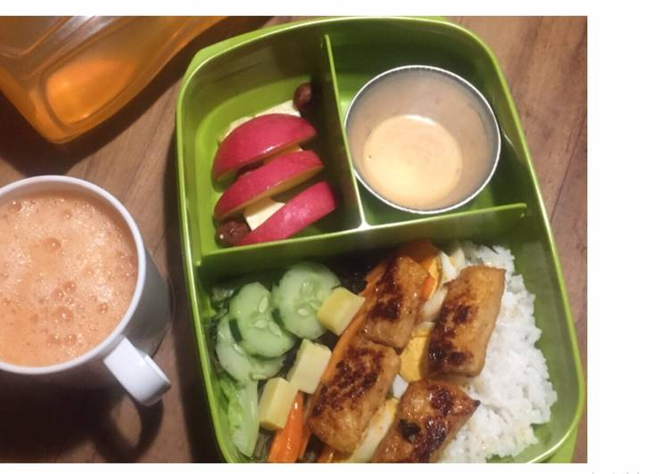 Resep Dori Bbq Lunch Box Oleh Ambar Hp Cookpad