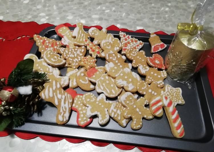 Biscotti pan di zenzero