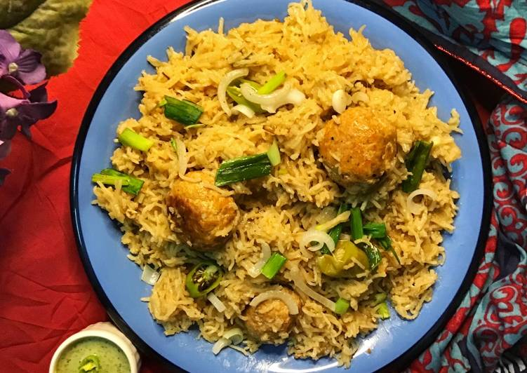 Simple Way to Make Super Quick Homemade Clay pot meat ball rice