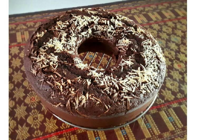 Bolu Coklat (resep brownies ny.liem)