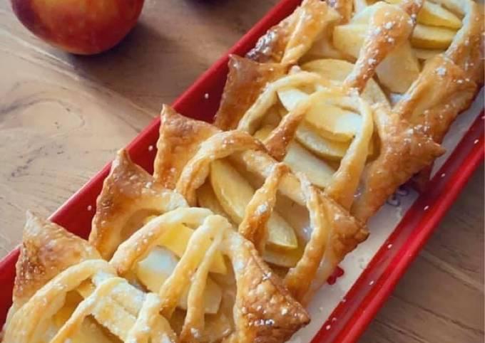 🍎Feuilleté aux pommes 🍎