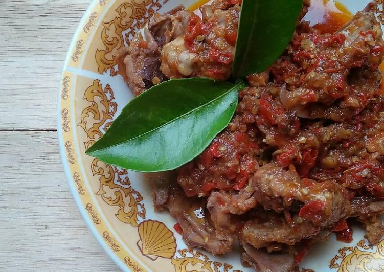 Rica Rica Balungan Ayam