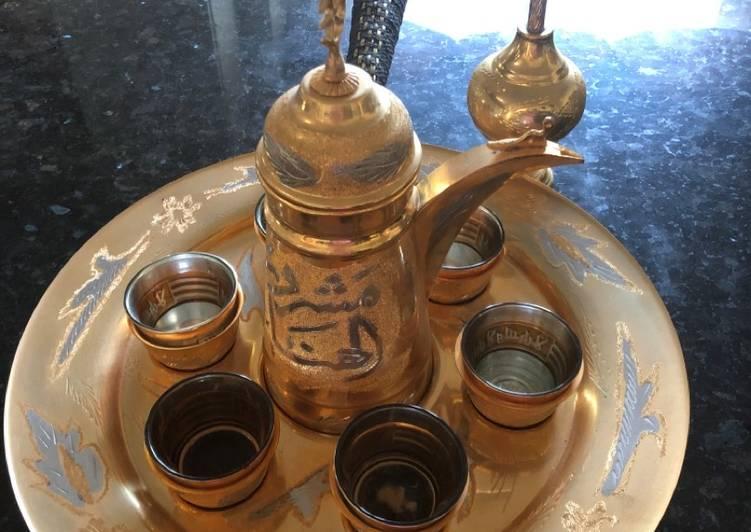 Jordanian espresso coffee