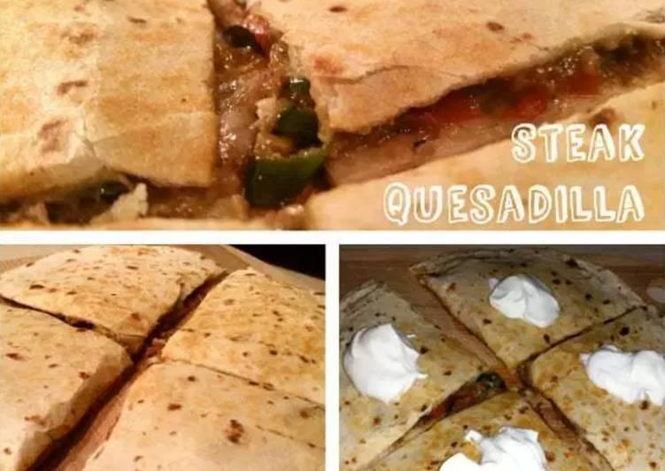 Cheesy Meat Quesadilla