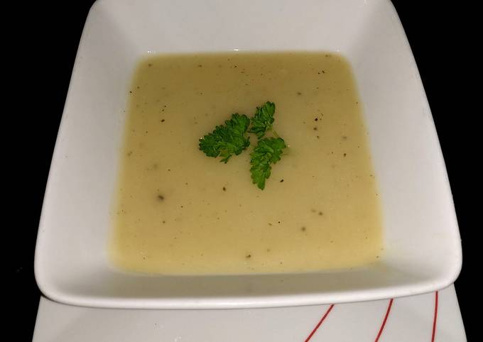 My Thick Potato & Onion Soup 🥰🥰