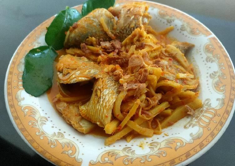 Gulai Ikan Rebung Asam khas Bengkulu
