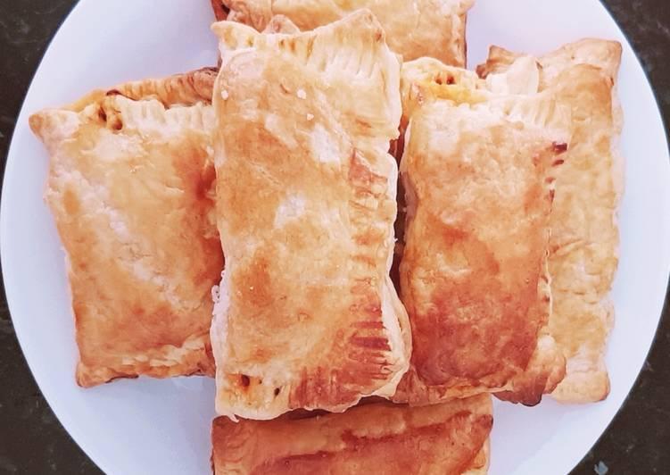 Mackerel fish sambal puff pastry