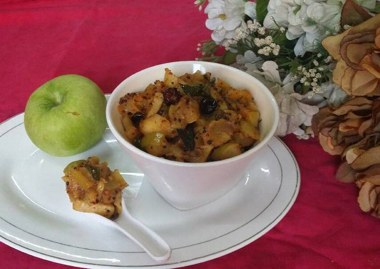 Step-by-Step Guide to Prepare Ultimate Instant Green Apple Chutney..#wecare