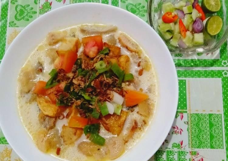 "Resep Sop Kaki & Kikil Sapi Kuah Susu ""Betawi"" yang Sempurna"