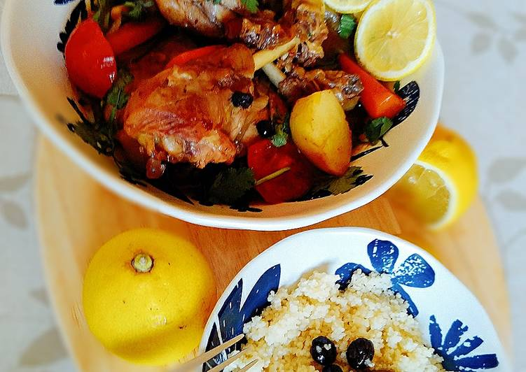 Morrocan chicken tajine