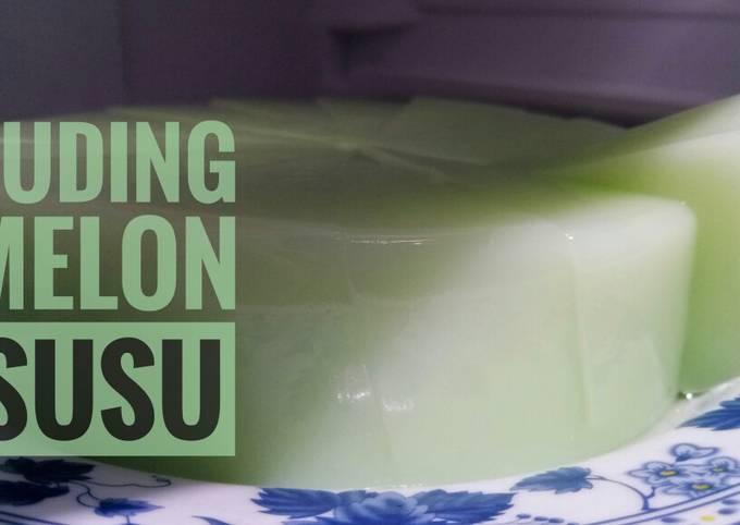 Puding Melon Susu