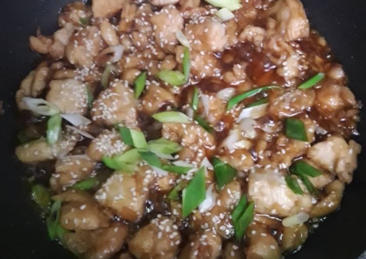 Garlic Honey Chicken / Tumis Ayam Madu Bawang Putih