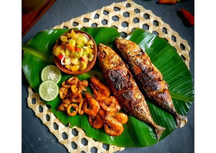 Seafood Bakar Teflon