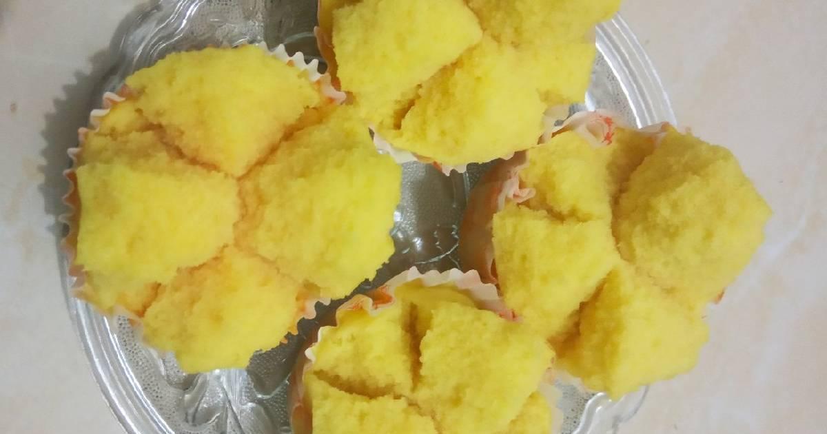 156 Resep Kue Mangkok Merekah Anti Gagal Enak Dan Sederhana