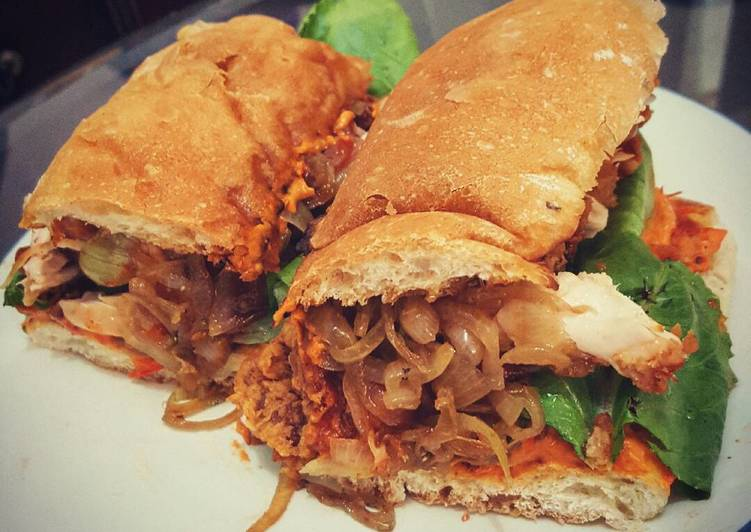 30 Minute How to Prepare Super Quick Homemade Breaded Chicken Sandwich