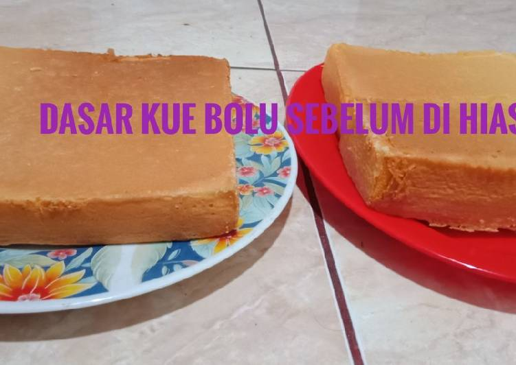 Kue ultah sederhana - cookandrecipe.com