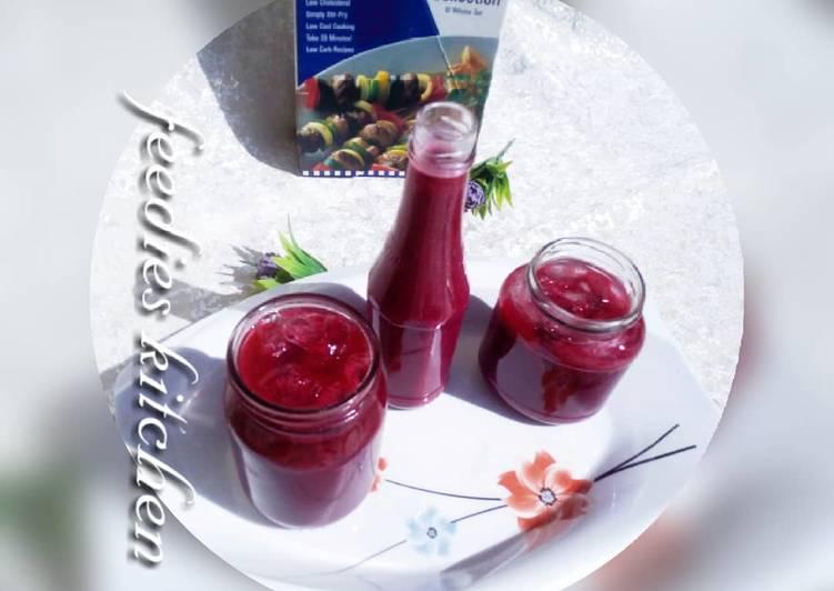 Baobab hibiscus juice