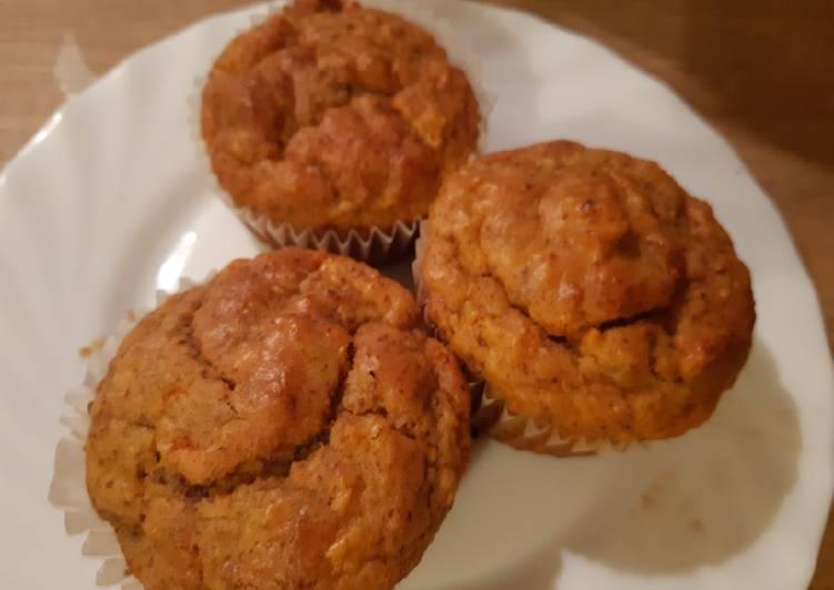 Möhren-Muffins (zuckerfrei)