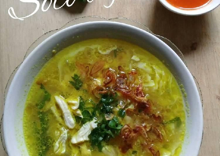Resep Soto Ayam Solo