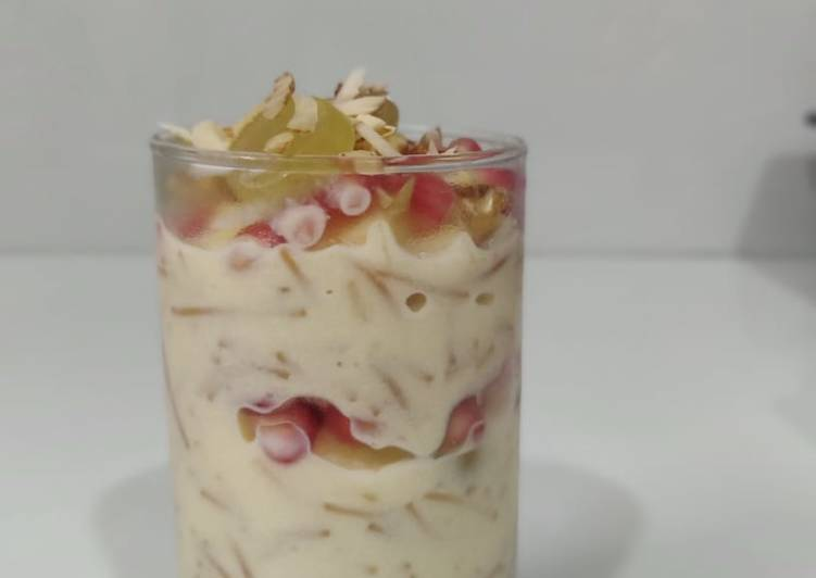 Simple Way to Prepare Award-winning Vermicelli fruit custard