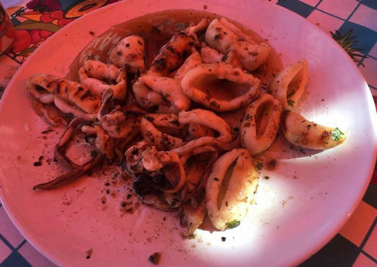 How to Prepare Homemade Calamari of squid