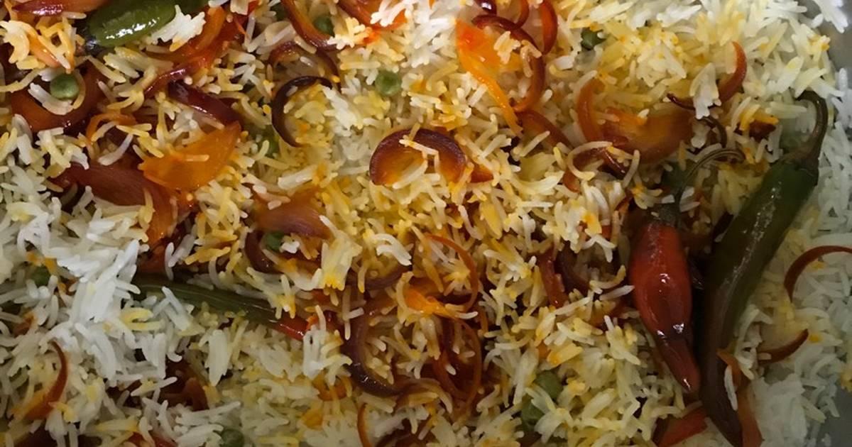طريقة عمل الأرز مع كشنة البصل 148 وصفة الأرز مع كشنة البصل سهلة وسريعة كوكباد