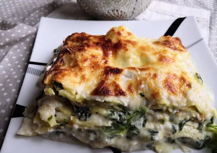 Lasagne épinards ricotta