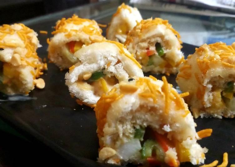 Nutty Sushi Rolls