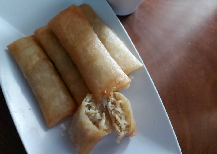 Lumpia Rebung Simple