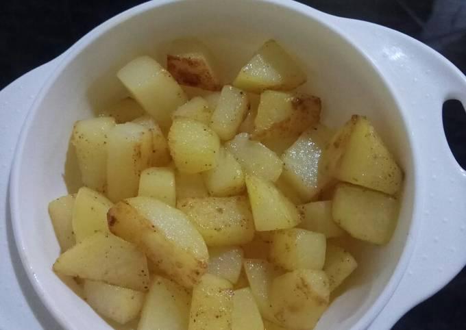 MPASI snack sautee potato tinggi kalori